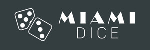 Miami Dice Logo Wide